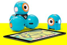 3 cool coding project ideas created by kids from 5-9 for the Dot and Dash robots. Without any grownup help, either!