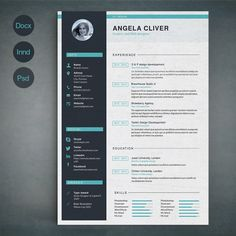 Resume Template A by sz81 on Creative Market