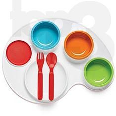 Cute for dinner time for fussy eaters!