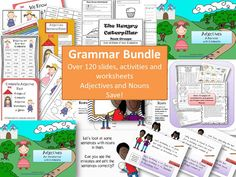 Grammar Bundle - 6 Packs in one - save $$$$