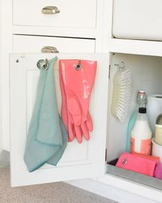 "See the ""Under the Sink Organizer"" in our Kitchen Organizing Tips gallery"