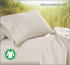 Organic Cotton Sheets, 400TC - GOTS Certified Cotton