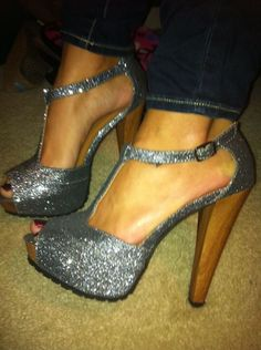 I could never wear them..because I'd break something..but I love them!