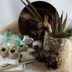 Feather Frenzy Table Styling Kit