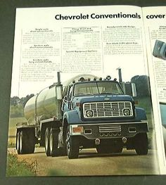 Amazon.com: 1975 75 Chevy CONVENTIONAL Truck BROCHURE Series 90: Everything Else