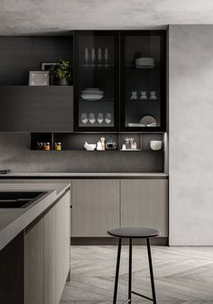 Modern Home Decor Kitchen 2019 on Behance.Modern Home Decor Kitchen 2019 on Behance Kitchen Sets, Home Decor Kitchen, New Kitchen, Kitchen Furniture, Cozy Kitchen, Minimal Kitchen, Modern Kitchen Design, Interior Design Kitchen, Interior Modern