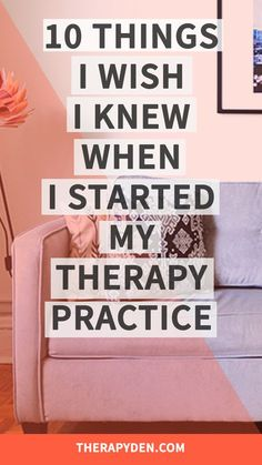 My first attempt at starting a private practice was a complete and utter failure. Here are ten things I wish I knew when I started my private practice.
