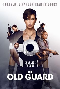 The Old Guard Movie Poster Glossy High Quality Print Photo Wall Art Charlize Theron Sizes 8x10 11x17