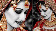 How to Wedding Bride Photo Grey Effects in Photoshop