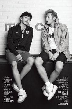 Doo Joon and Gi Kwang - Upper Cut Magazine