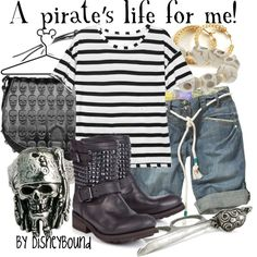 A pirate's life for me, created by lalakay on Polyvore #disney