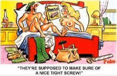 Funny Postcards, Old Postcards, Funny Toons, British Humor, Fun Cards, Sexy Drawings, Sea Side, Sexy Cartoons, Twisted Humor