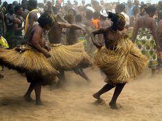 Africa |  Voodoo dancers, Benin | © bindubaba, via Flickr