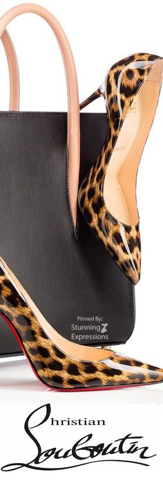 Nothing is more stylish than animal print shoes