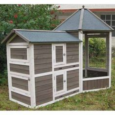 FindCoops & Feathers Gazebo Coop, Mediumin theChicken Coop   Brand : Coops & Feathers   Recommended Number of Chickens : 3-5 Chickens   Produ