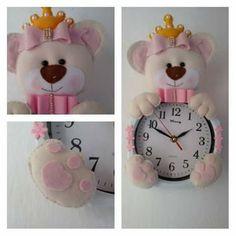 Relógio ursinha