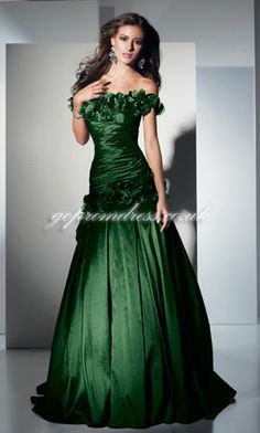 vintage 1960u002639s strapless emerald green chiffon by ...