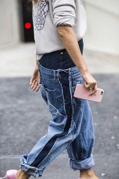 Сумасшедшие джинсы   Переделка джинсов   ВТОРАЯ УЛИЦА Bluse, Perfekte Jeans,  Jeans Hosen, 535f3b7fcc