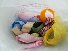 Ribbons for Boos...