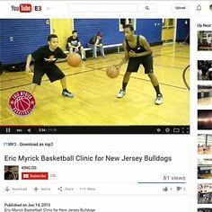 Go support @emyrickb basketball clinic video on YouTube w/ @njbulldogs … filmed by @thalyyfeof_ds #youngestdoinit #gabe3x #emb #njbulldogs