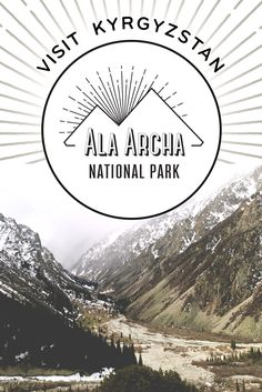 Ala-Archa National Park near Bishkek, Kyrgyzstan is an accessible and unmissable piece of countryside with hiking trails leading far into the mountains. Wanderlust Travel, Asia Travel, Travel Destinations, Travel Tips, European Destination, Central Asia, Plan Your Trip, Hiking Trails, Where To Go