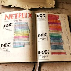 I have a few series I like but not to the point that I know when are they on TV or when are the new episodes are coming out. There is one common thing in each series. Bullet Journal Tv Series, Bullet Journal Netflix, Bullet Journal Notebook, Bullet Journal Ideas Pages, Bullet Journal Inspiration, Journal Sample, Bullet Journel, Drawing Journal, Bujo