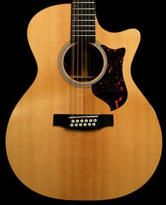 Martin GPC12PA4 12-String Acoustic Electric Guitar.