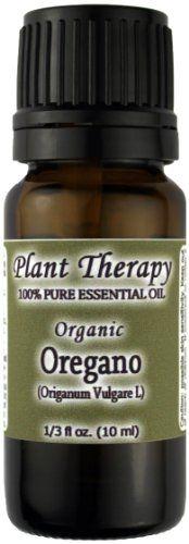 Organic Oregano Essential Oil. 10 ml (1/3 oz). 100% Pure, Undiluted, Therapeutic Grade. Plant Therapy Essential Oils,http://www.amazon.com/dp/B007OY0B40/ref=cm_sw_r_pi_dp_jPi3sb093EQRY32C
