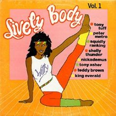 Orville Bagga Case artwork for this dancehall compilation - http://reggaealbumcovers.com/lively-body-various-artists-1986/