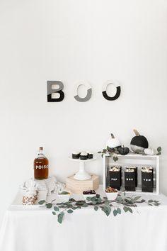 DIY Boo-Tacular Halloween Party