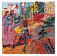 Frank Auerbach, Hampstead Road, High Summer, 2010.