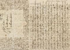 """Jane Austen, letter to her sister Cassandra, 8-9 February 1807, from Southampton.  displaying Austen's epistolary practice of writing in the margins, writing between the lines, and even writing over written text ;crossed letters; or 'cross-hatching')."""" (source)"""