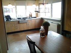 Eiken whitewash keuken