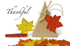 Thanksgiving gift tags  pumpkin orange and yellow by TodoPapel