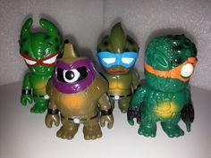 Real Head RxH L'amour Supreme Mutant Head Chaosman TMNT Kaiju