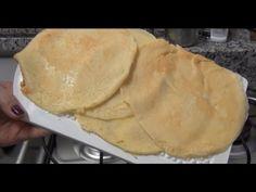 Massa básica para muitos pratos Dukan - Rondeli, Panqueca, Lasanha, Cachorro quente