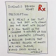 Broken Heart; Terrible Mood; Frightening People in Power; Mari Andrew (@bymariandrew) has one prescription.