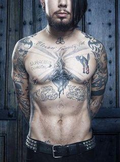 Dave Navarro's Tattoos …