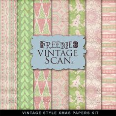Far Far Hill - Free database of digital illustrations and papers: Freebies Kit of Vintage Style XMAS Papers Papel Scrapbook, Digital Scrapbook Paper, Digital Papers, Digital Paper Freebie, Digital Scrapbooking Freebies, Paper Tags, Free Prints, Printable Paper, Free Paper