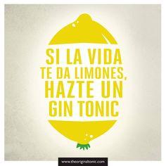 Inspiración yellow: Si la vida te da limones, hazte un gintonic