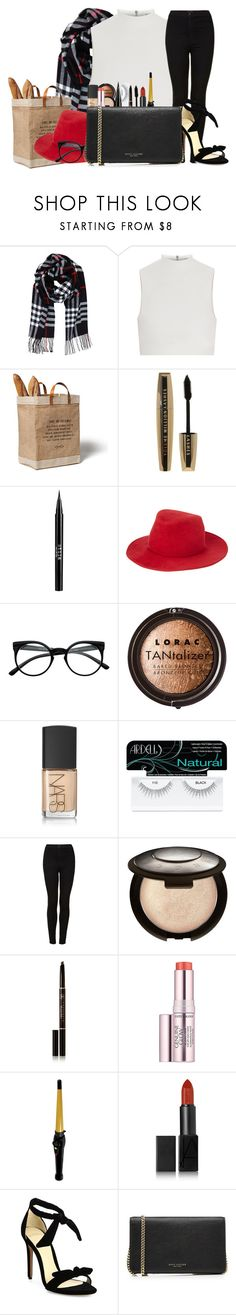 """Untitled #863"" by cheyleexox ❤ liked on Polyvore featuring Humble Chic, Elizabeth and James, APOLIS, L'Oréal Paris, Stila, rag & bone, LORAC, NARS Cosmetics, Ardell and Topshop"