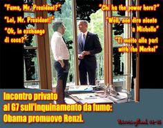 Al G7 Renzi e Obama tramano su un pacchetto segreto