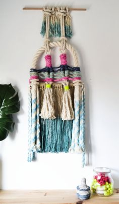 Dream rope wall hanging by RanranDesign on Etsy