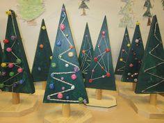 1.lk puutyö, Kaarisillan käsityö Triangle, Learning, Christmas, Blue Prints, Do Crafts, Xmas, Studying, Weihnachten, Teaching