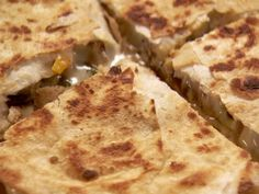 Pioneer Woman - Chicken Quesadillas Recipe : Ree Drummond : Food Network - FoodNetwork.com