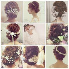 * * 最近、ブライダルの依頼が多くなり 本当にうれしいです! ブリアントpackでは ドレス2着のhairとメイクの リハーサルが1回無料です 安心してリハーサル できるようになっていますので 興味のある方は ゼヒ! お問い合わせ下さい。 053-473-4003 #ヘアアレンジ #ウェディング #wedding #fashion #ネイル