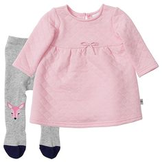 Baby Abbey Quilted Dress And Tights Set | Target Australia