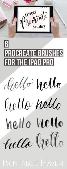 You can never have enough Procreate brushes for ! For Procreate iPad.