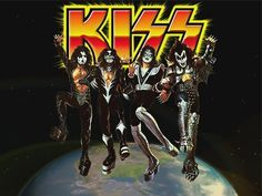 Wallpaper of Kiss ~ Destroyer for fans of KISS 24994312 Kiss Images, Kiss Pictures, Army Wallpaper, Black Wallpaper Iphone, Kiss Destroyer, Kiss World, Detroit Rock City, Vintage Kiss, Kiss Art