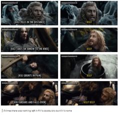 Fili cares for Kili. No matter who their foe. Side by side they will stand. Thranduil, Legolas, Fellowship Of The Ring, Lord Of The Rings, Fili Y Kili, Arrow To The Knee, Bagginshield, One Does Not Simply, The Hobbit Movies